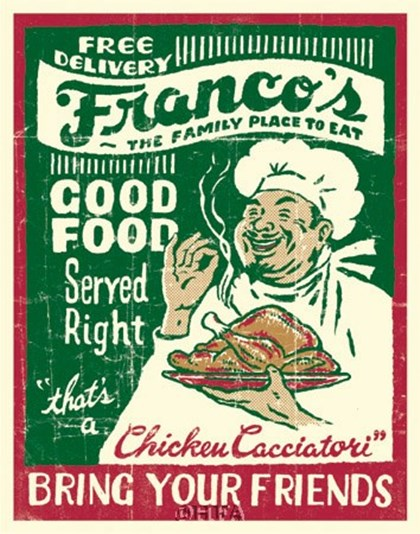 Francos by Joe Giannakopoulos art print