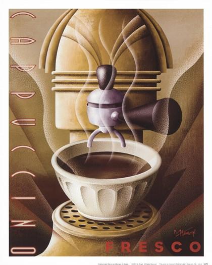 Cappuccino Fresco by Michael Kungl art print