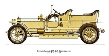 Rolls-Royce (Silver Ghost) 1907 art print
