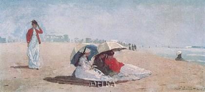 East Hampton, Long Island, 1874 by Winslow Homer art print