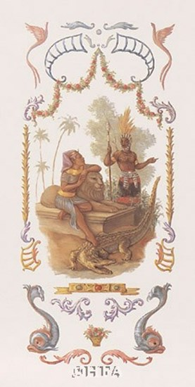Decor/Panel-Egypt & Zaire by Tim Ashkar art print