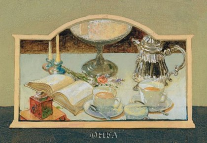 Tea for Two by Thomas LaDuke art print
