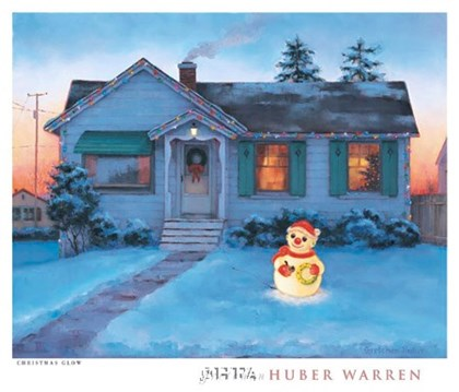 Christmas Glow by Gretchen huber Warren art print