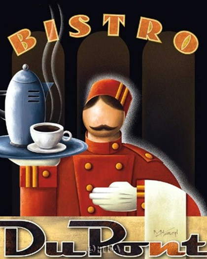 Bistro DuPont by Michael Kungl art print