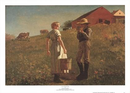 Gloucester Farm by Winslow Homer art print