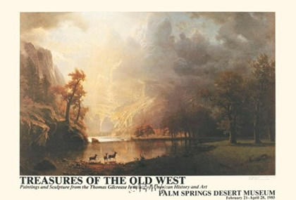 Sierra Nevada Morning by Albert Bierstadt art print