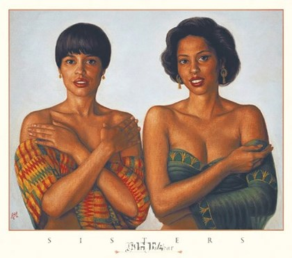 Sisters by Tim Ashkar art print