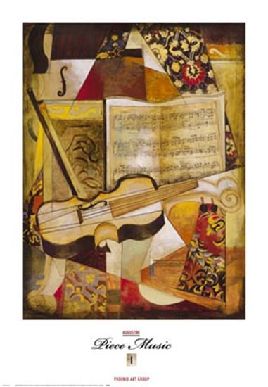 Piece Music I by Joseph Augustine art print
