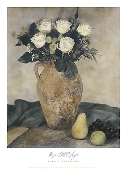 Rose Still Life by Laurie Eastwood art print
