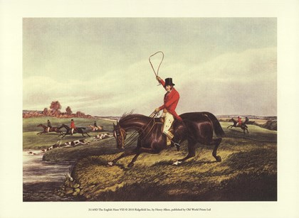 The English Hunt VIII by Henry Alken art print
