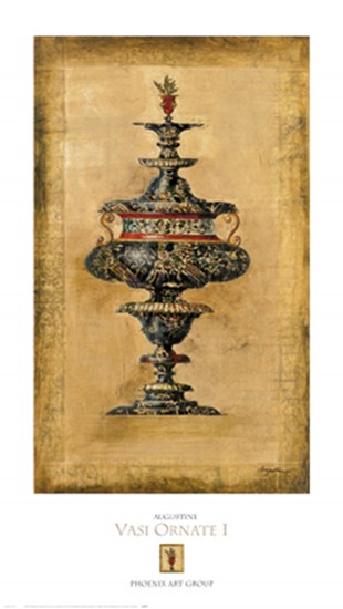 Vasi Ornate I by Joseph Augustine art print