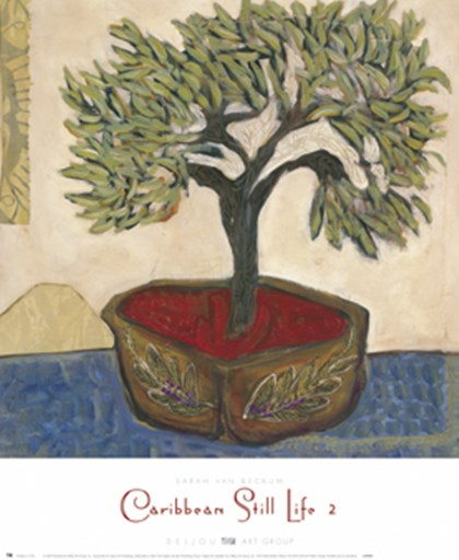 Caribbean Still Life II by Sarah Van Beckum art print