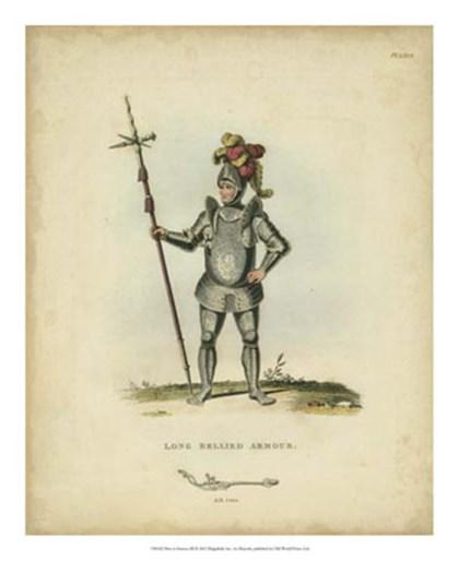 Men in Armour III by Samuel R. Meyrick art print