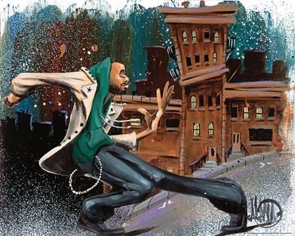 San Francisco Stomp by David Garibaldi art print
