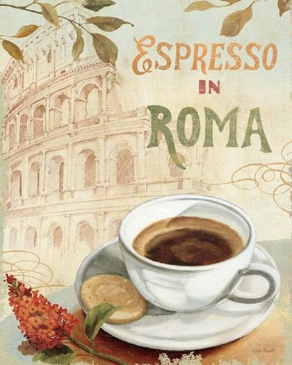 Cafe in Europe III by Lisa Audit art print