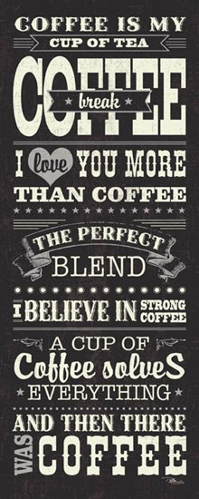 Coffee Lovers I by Pela Studio art print