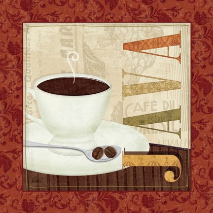 Coffee Cup I by Veronique Charron art print