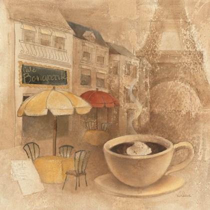 Cafe de Paris II by Albena Hristova art print