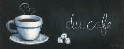 Chalkboard Menu I - Cafe by Emily Adams art print