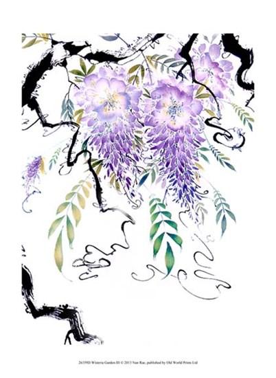 Wisteria Garden III by Nan Rae art print