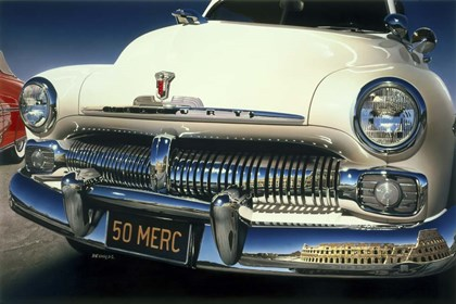 '50 Ford Mercury by Graham Reynolds art print