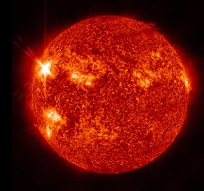Solar activity on the Sun by Stocktrek Images art print