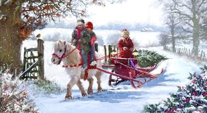 Pony Cart 2 by The Macneil Studio art print
