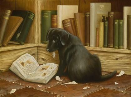Mischief by John Silver art print