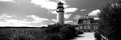 Highland Light, Cape Cod National Seashore, North Truro, Cape Cod, Massachusetts by Panoramic Images art print