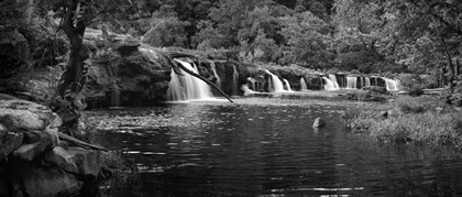 Pool at New River Falls, West Virginia by Panoramic Images art print