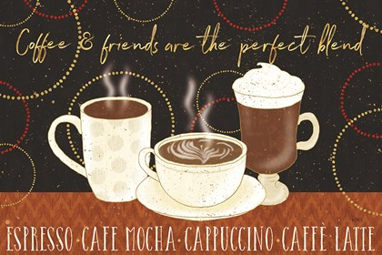 Fresh Coffee I by Lisa Audit art print