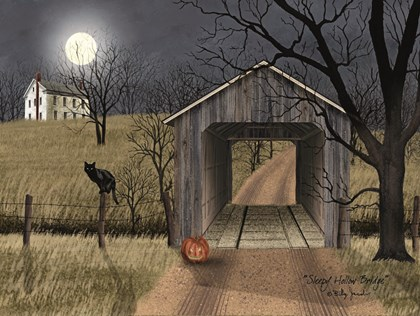 Sleepy Hollow Bridge by Billy Jacobs art print